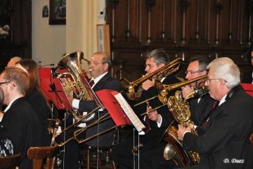 Concert Sainte-Cécile en l'église Saint-Martin de Ghlin le 23 novembre 2014